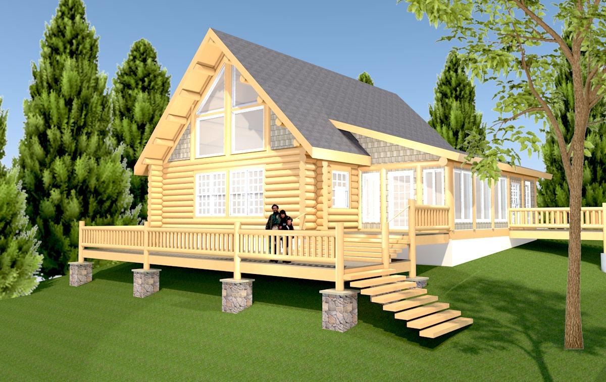 17003 Johnson Log Cabin 03-19-18 rendering