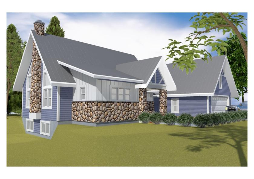 18002 schuette house - Rendering